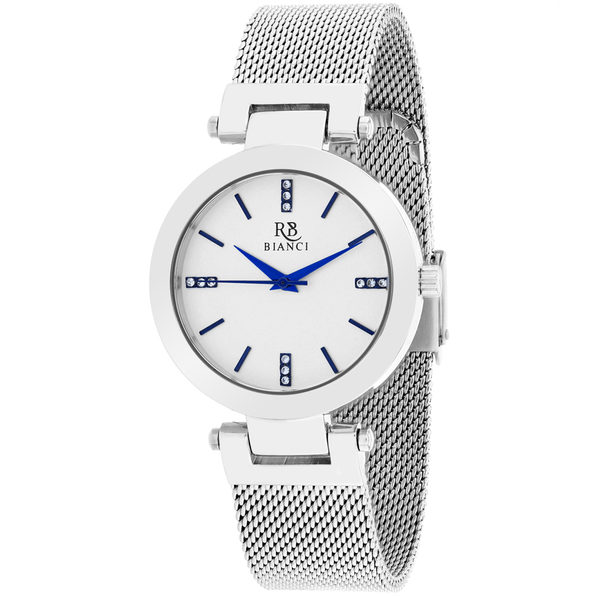 Roberto Bianci Women's Cristallo Silver Dial Watch - RB0400 - Product Image
