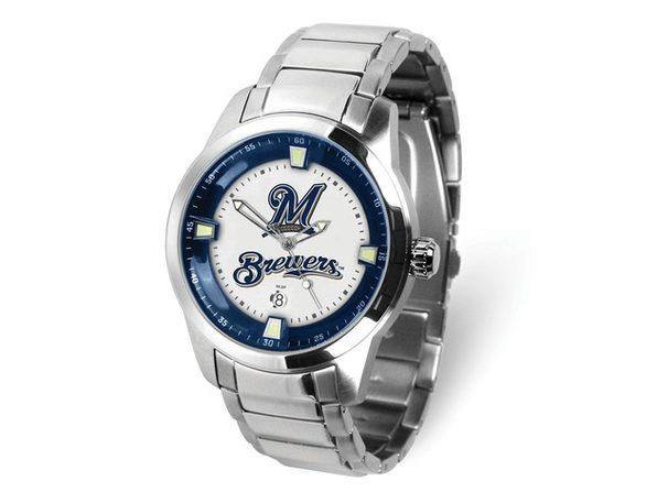 MLB Mens Milwaukee Brewers Titan Watch - Product Image