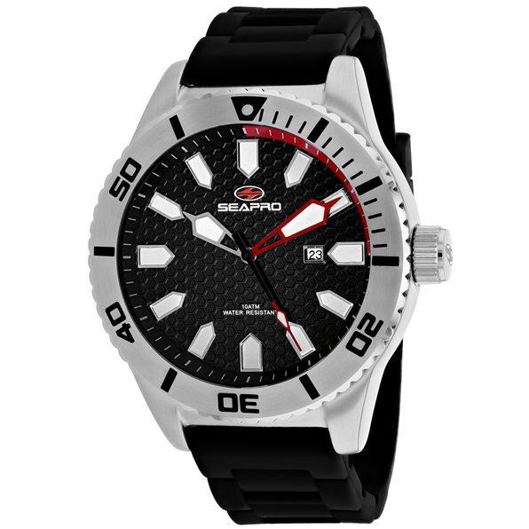 Seapro Men's Brigade Black Dial Watch - SP1310 - Product Image