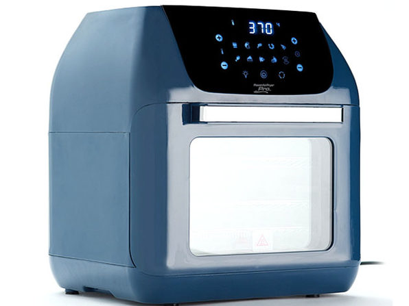 PowerXL 10-in-1 Pro XLT 6QT Air Fryer Oven with Rotisserie - Navy Blue (Factory Remanufactured)