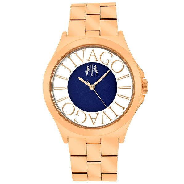 Jivago Women's Fun Black Dial Watch - JV8412