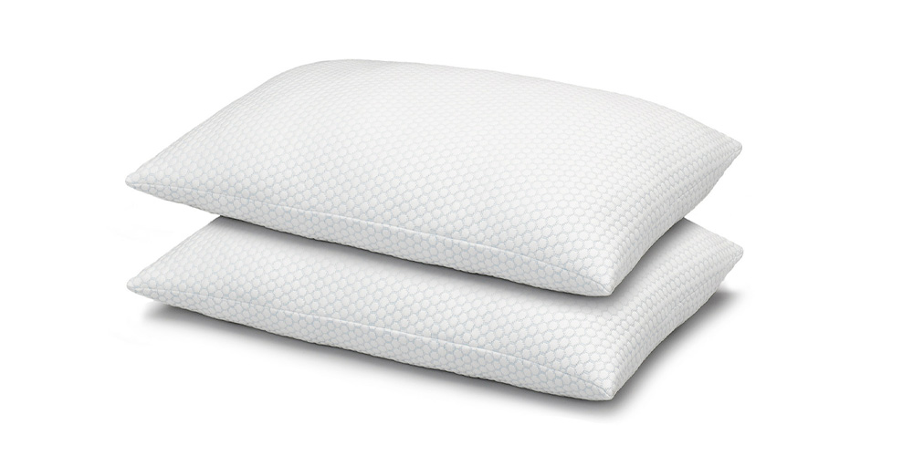 Cool N' Comfort Gel Fiber Pillow with CoolMax Technology: 2-Pack, on sale for $36.99 (75% off)