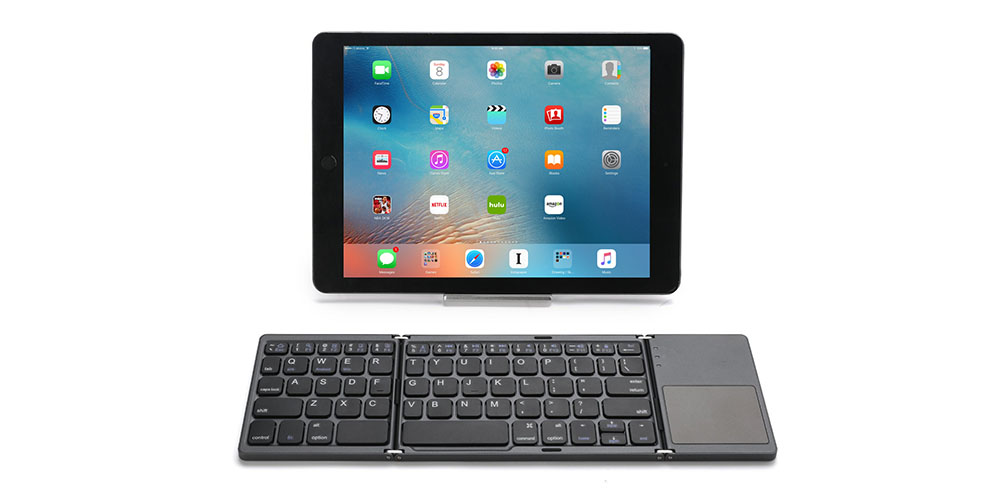 Foldable Bluetooth Keyboard with Touch-Pad, on sale for $71.95 (8% off)