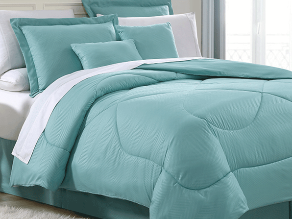 Chevron Comforter 6-Piece Set in Queen