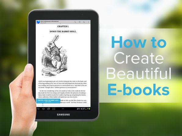 How to Create Beautiful E-Books - Product Image