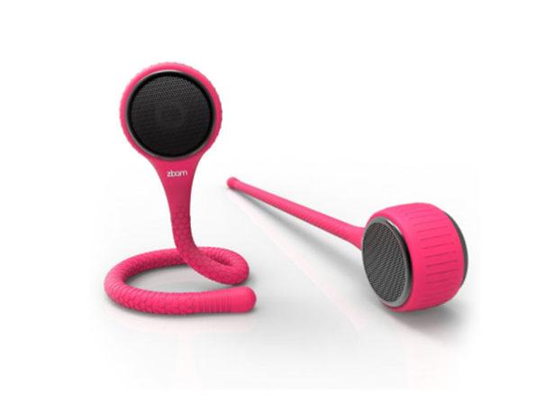 GekkoWave Memo-Flex Speaker: 2-Pack (Pink)