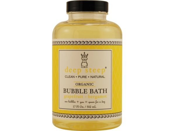 DEEP STEEP by Deep Steep GRAPEFRUIT-BERGAMOT ORGANIC BUBBLE BATH 17 OZ for UNISEX ---(Package Of 3) - Product Image