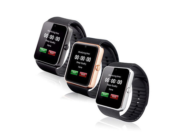 Fit Time Smartwatch with Bluetooth Technology (Silver)