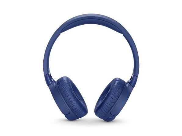 JBL T600BTNC Noise Cancelling On-Ear Wireless Bluetooth Headphone - White