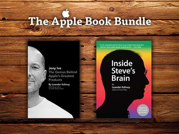 Book Bundle - Jony Ive: The Genius Behind Apple's Greatest Products & Inside Steve's Brain - Product Image