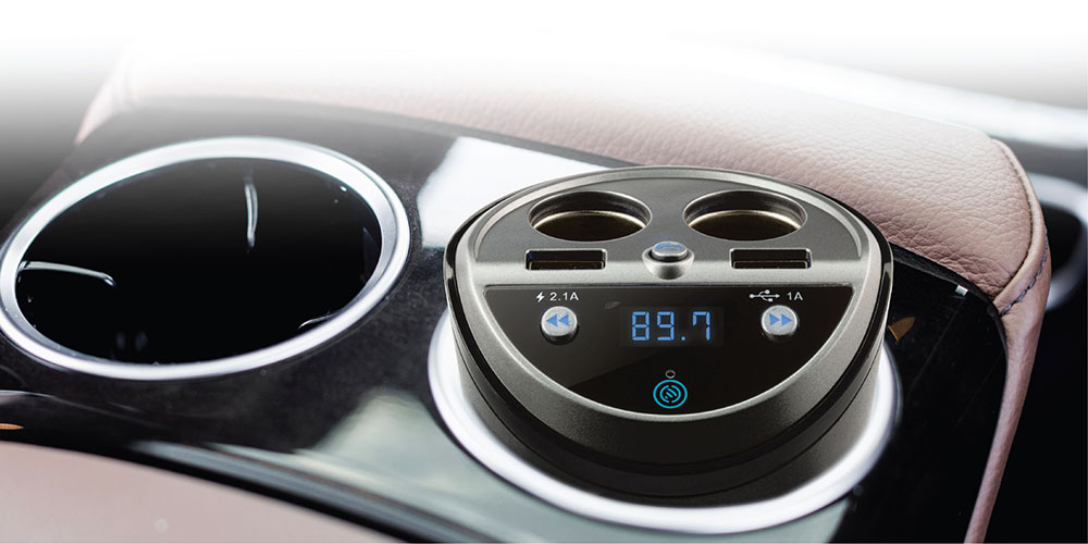 Car & Drive Dual Socket Power Cup Kit, on sale for $29.99
