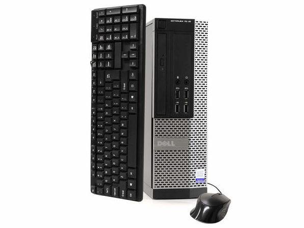 Dell OptiPlex 7020 Desktop PC, 3.2GHz Intel i5 Quad Core Gen 4, 8GB RAM, 120GB SSD, Windows 10 Home 64 bit (Renewed)