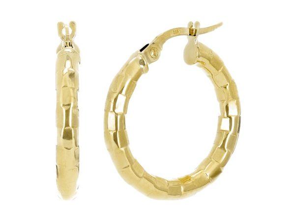 Christian Van Sant Italian 14k Yellow Gold Earrings - CVE9H89