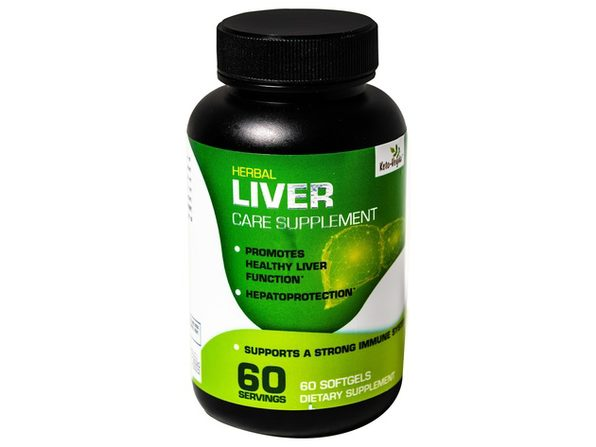 Ketoveyda Herbal Liver Care with Milk Thistle and Artichoke Dietary Supplement - 60 Softgels