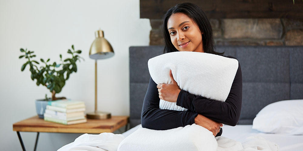 Moonbow Adjustable Plush Memory Pillow, on sale for $84.15 when you use coupon code MERRY15 at checkout