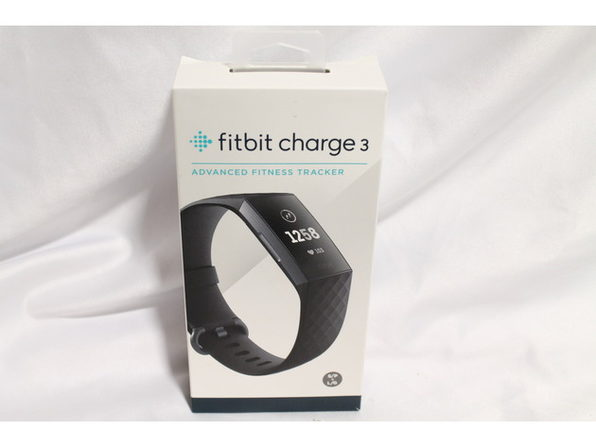 Fitbit Charge 3 Fitness Activity Tracker + Heart Rate Graphite/Black (Distressed Box)