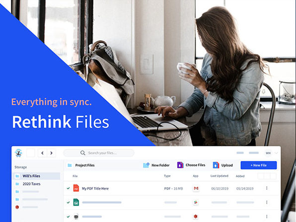 Rethink Files 2TB Cloud Storage + Organization: 5-Yr Subscription