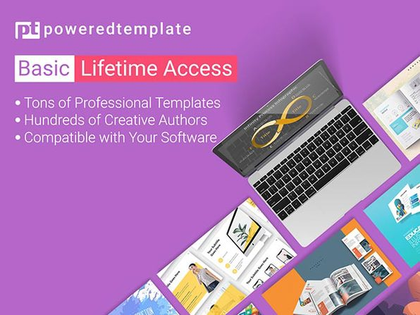 PoweredTemplate Basic Plan Lifetime Subscription - Product Image
