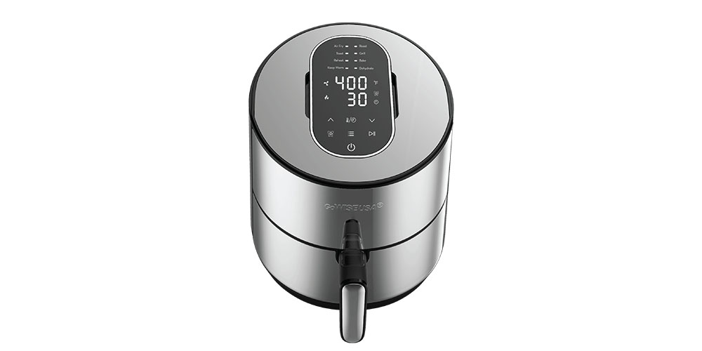 GoWISE USA® 8-in-1 Programmable 4.6QT Stainless Electric Air Fryer, on sale for $89.99 (39% off)