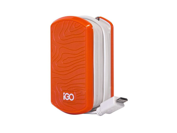 iGo by Incipio Smartphone Wall Charger for Micro USB Devices - Orange/White - Product Image