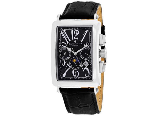 Christian Van Sant Men's Prodigy Black Dial Watch - CV9130