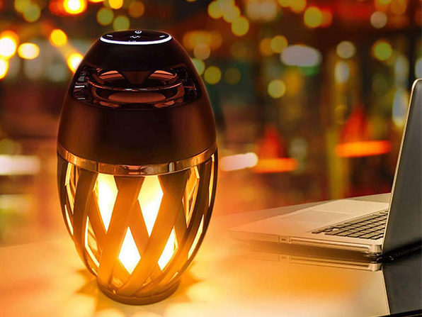 Tiki Torch Bluetooth LED Light Up Speaker