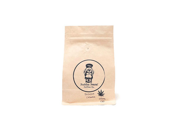 Buddha Beans CBD-Infused Whole Coffee Beans (Colombia/6oz)