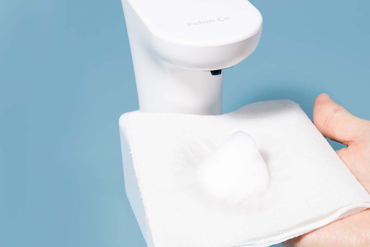 A Fohm dispenser