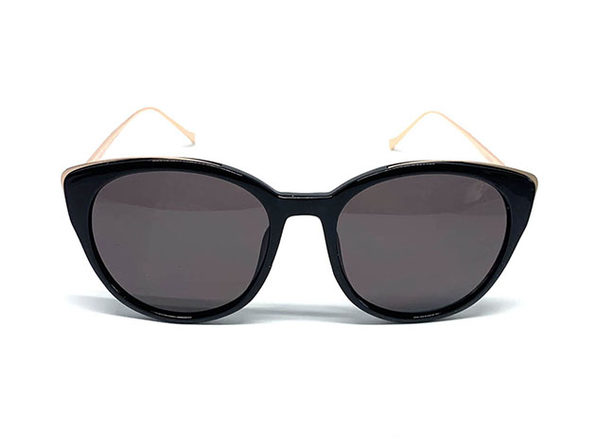 The Diane Sunglasses in Black