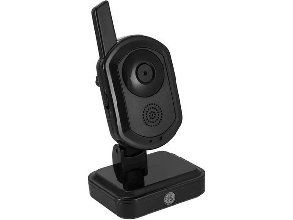 General Electronic Indoor/Outdoor Digital Home Monitoring Wireless Color Camera, Black (New Open Box)