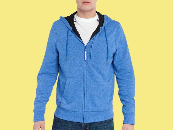 BauBax: The World's Best Travel Sweatshirt for Men (Blue)