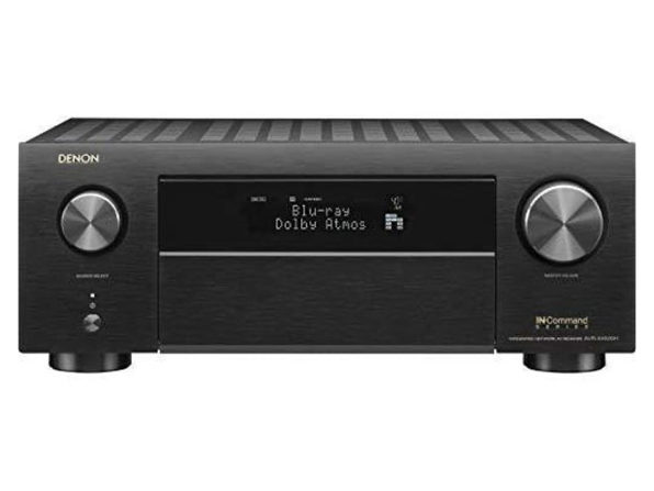 Denon AVR-X4500H Receiver 8 HDMI in /3 Out, High Power 9.2 Channel Amplifier (Used, No Retail Box)