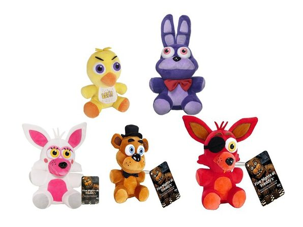 Five Nights at Freddys Plush Toy Bundle - Series 1 - 6 Inch