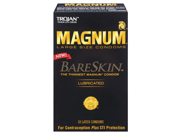 Trojan Magnum Bareskin Condoms (10) ---(Package Of 2) - Product Image