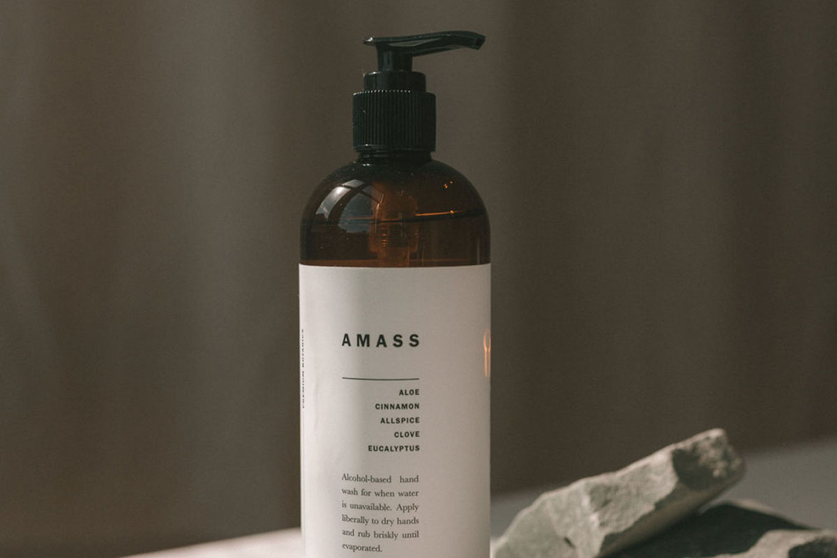 AMASS Botanic Hand Sanitizer, on sale for $39.99 (35% off)