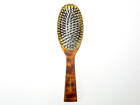 Jaspé Boar Bristle & Nylon Pin Hair Brush (Large)