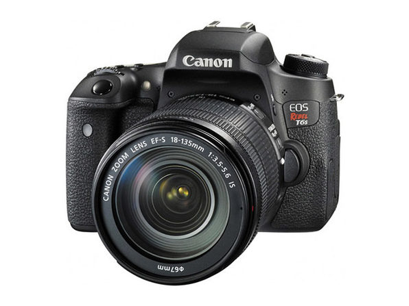 Canon EOS Rebel T6s DSLR Camera + 18-135mm Lens