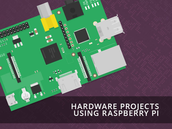 Hardware Projects Using Raspberry Pi - Product Image