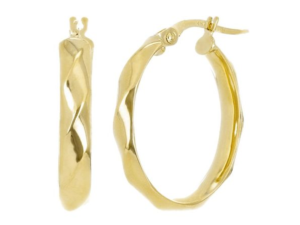 Christian Van Sant Italian 14k Yellow Gold Earrings CVE9H95 - Product Image