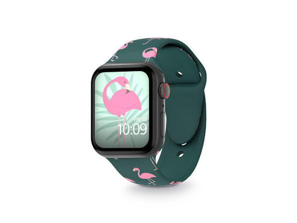 MobyFox 42mm Apple Watch Band (Flamingos)