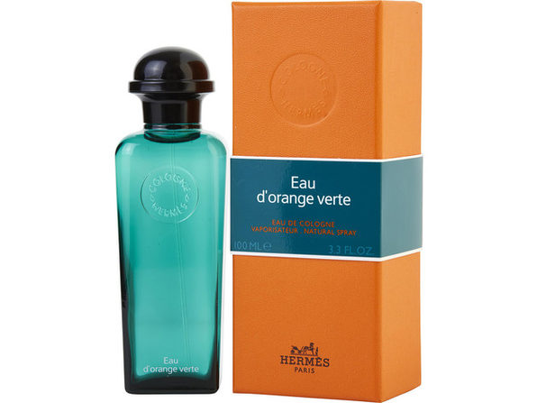 HERMES D'ORANGE VERT by Hermes EAU DE COLOGNE SPRAY 3.3 OZ for MEN ---(Package Of 2) - Product Image