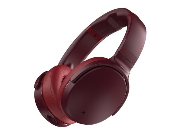 Skullcandy Venue Active Noise Canceling Wireless Headphones (Deep Red)