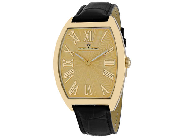 Christian Van Sant Men's Gold Dial Watch - CV0273