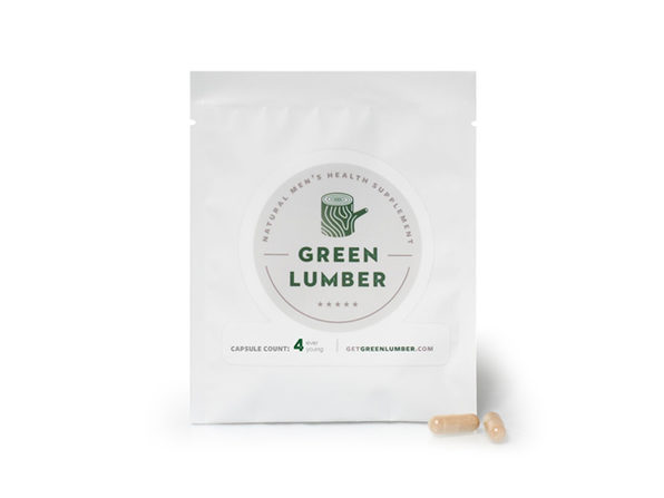 Green Lumber Male Enhancement: 4-Pack