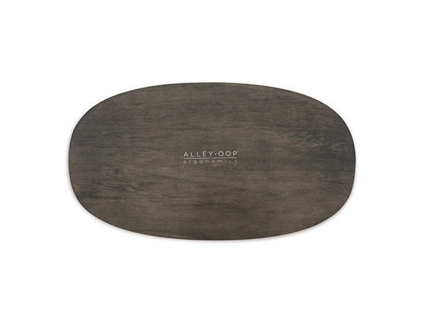 AlleyOOP Wood Rocker Board (Grey/Medium)