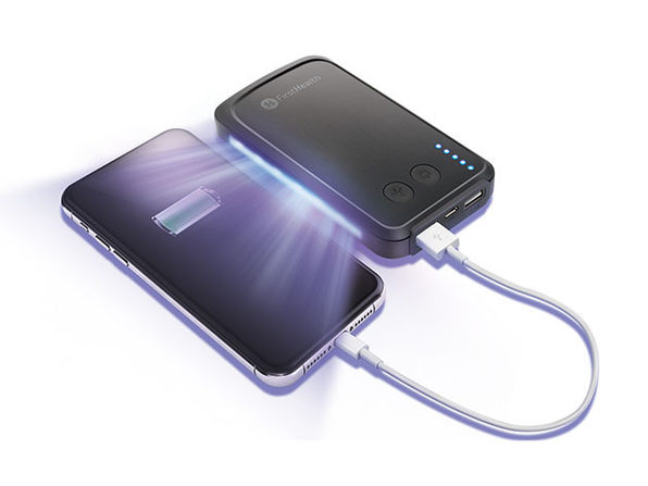 6,000mAh UV-C Power Bank & Sanitizer