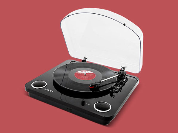 Conversion Turntable with Stereo Speakers