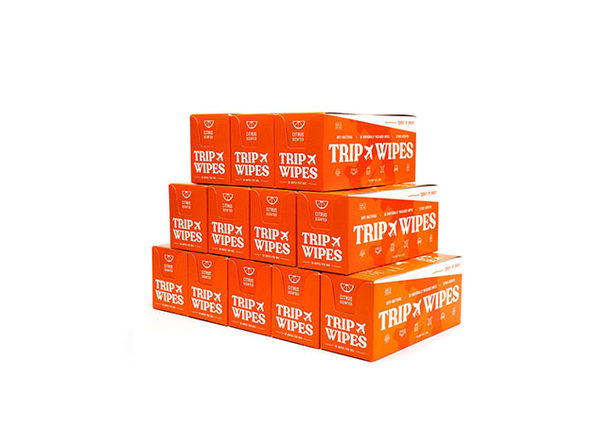 TripWipes Anti-Bacterial Wipes: 12-Month Supply (360-Pack)