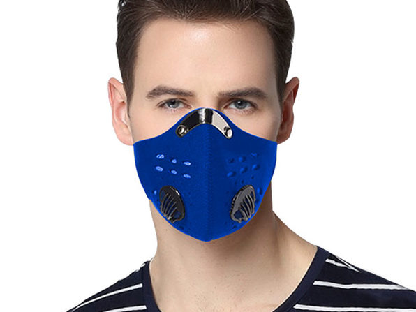 Reusable Dust-Proof Mask with 5 Filters