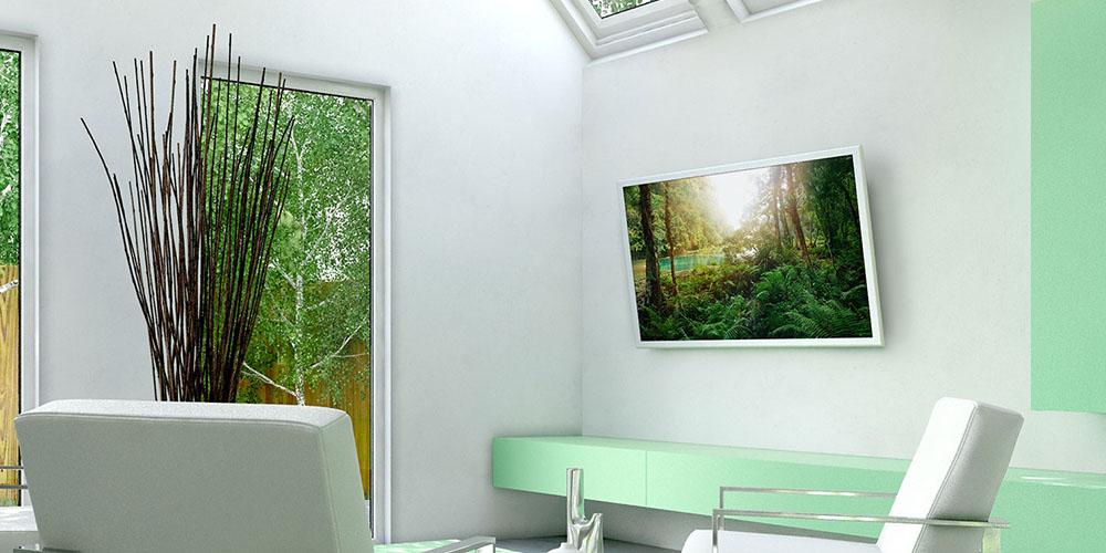 Monster Large Tilt Wall Mount Kit for 42″-75″ TVs